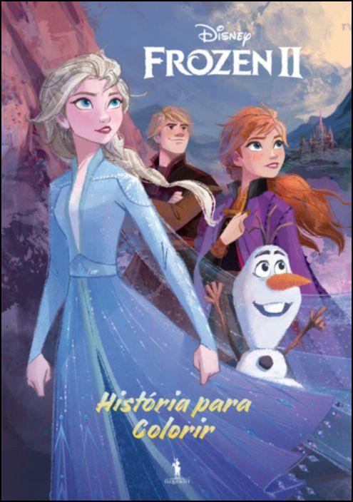 Frozen 2 - História Para Colorir