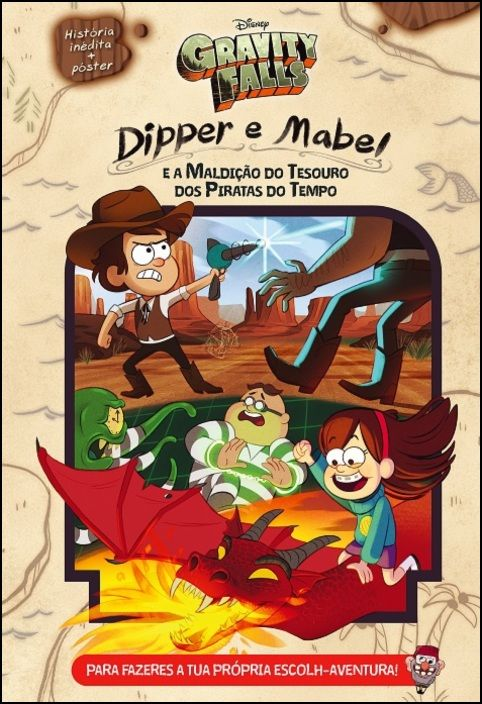 Gravity Falls - Dipper e Mable e a Maldição do Tesouro dos Piratas do Tempo