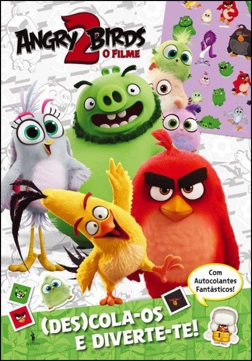 Angry Birds 2 - (Des)Cola-os e Diverte-te - História Para Colorir