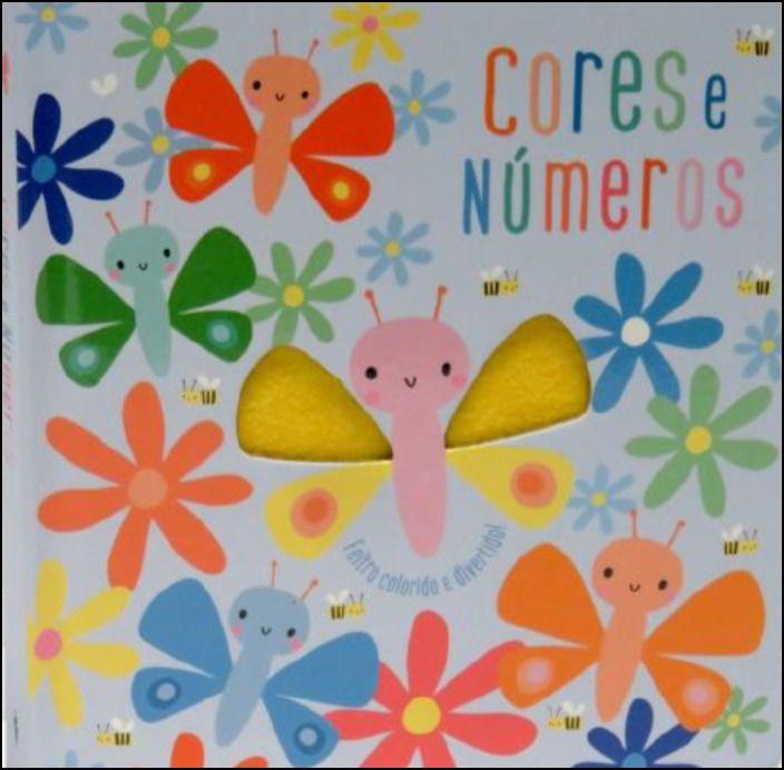 Cores e Números - Livros com Feltro