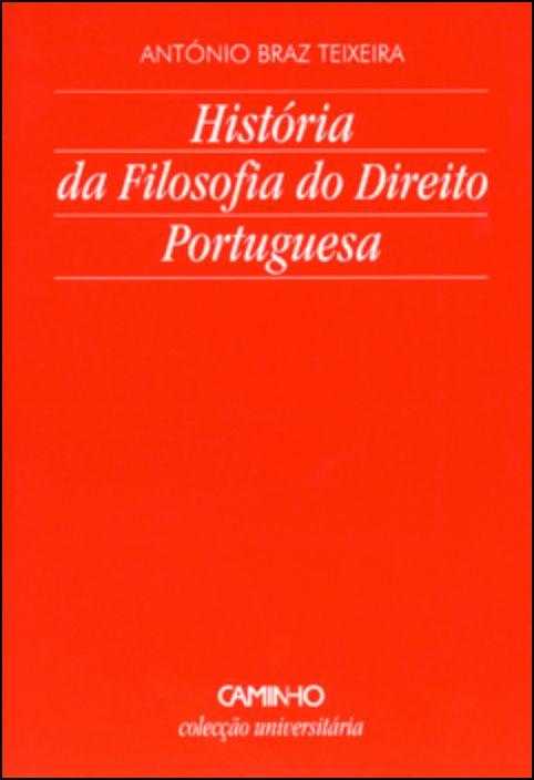 História Da Filosofia Do Direito Portuguesa