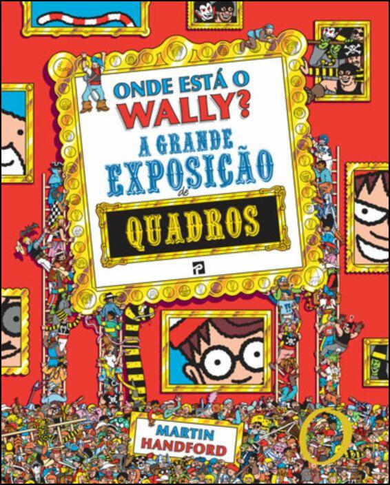 Onde está o Wally? A Grande Exposição de Quadros
