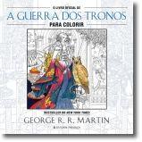O Livro Oficial de a Guerra dos Tronos para Colorir