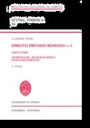 Direito Privado Romano - I