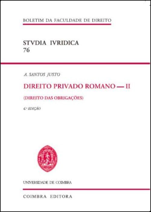 Direito Privado Romano - II (Direito das Obrigações)