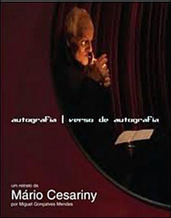 Autografia/ Verso de Autografia - Um Retrato de Mário Cesariny