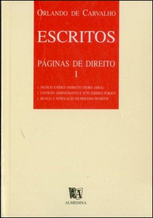Escritos - Páginas de Direito I