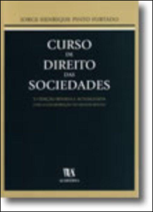 Curso de Direito das Sociedades