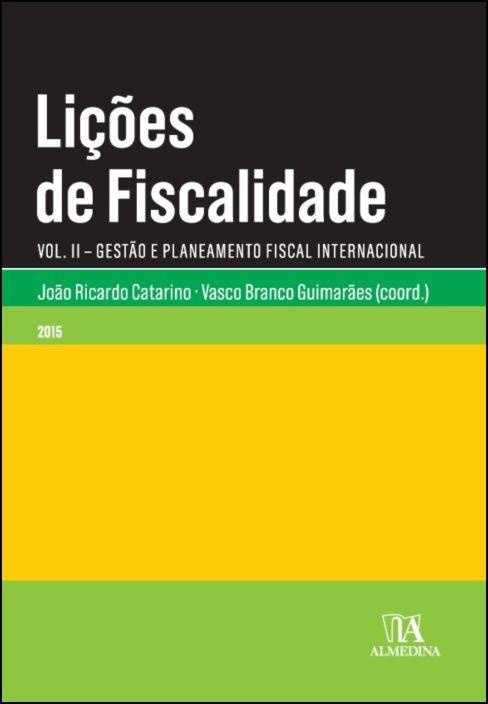Lições de Fiscalidade Vol. II
