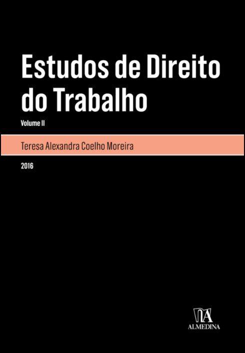 Estudos de Direito do Trabalho - Volume II