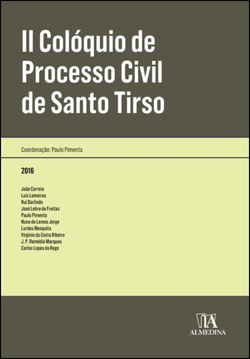 II Colóquio de Processo Civil de Santo Tirso