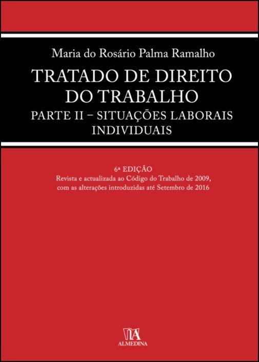Tratado de Direito do Trabalho Parte II