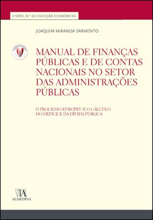 Manual de Finanças Públicas e de Contas Nacionais no Setor das Administrações Públicas