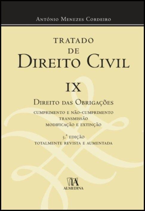 Tratado de Direito Civil Volume IX
