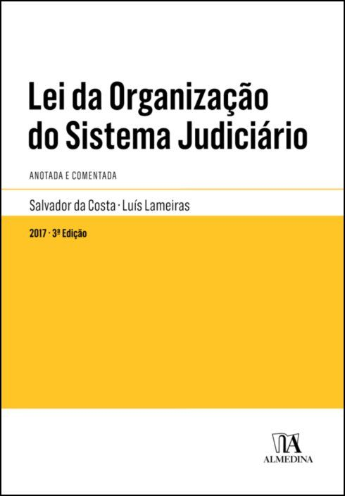 Lei da Organização do Sistema Judiciário Anotada