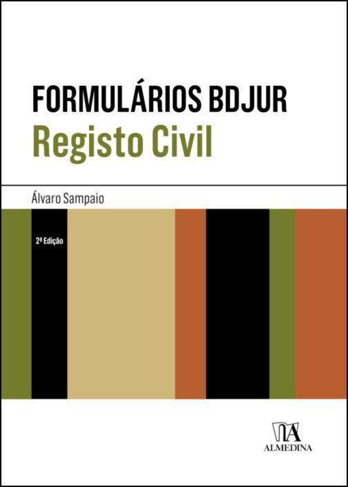 Formulários BDJUR - Registo Civil