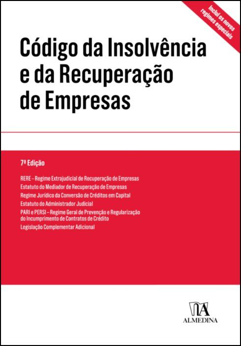 Código da Insolvência e da Recuperação de Empresas