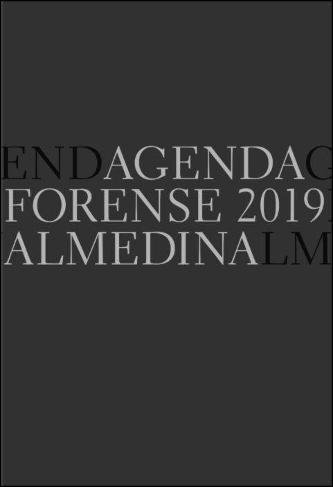 Agenda Forense 2019 Bolso (Preto)