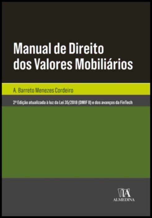 Manual de Direito dos Valores Mobiliários