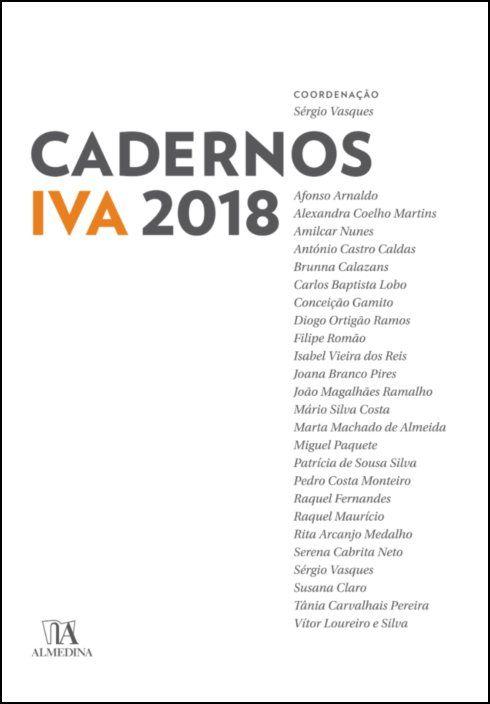Cadernos IVA 2018