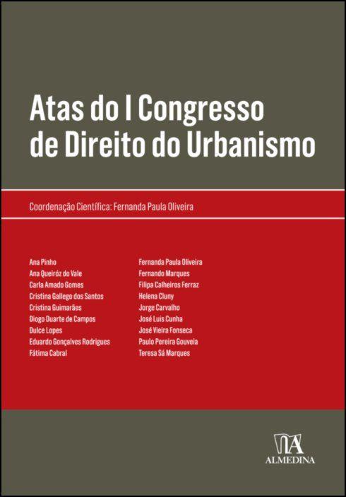 Atas do I Congresso de Direito do Urbanismo