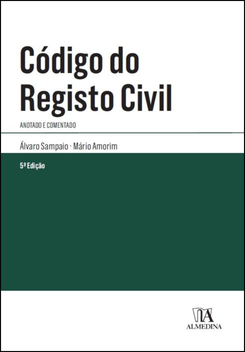 Código do Registo Civil - Anotado