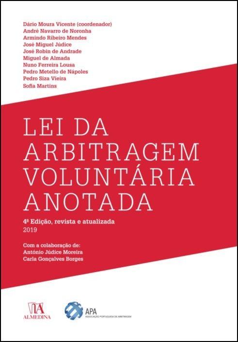 Lei da Arbitragem Voluntária Anotada