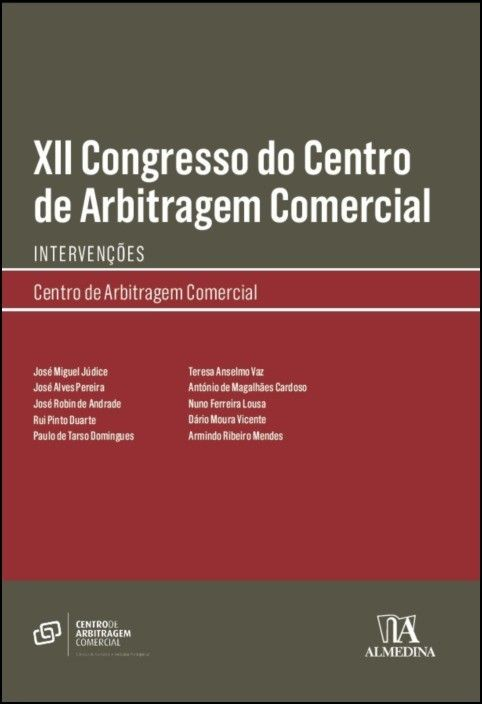 XII Congresso do Centro de Arbitragem Comercial