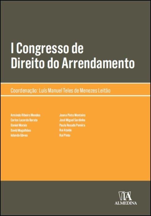 I Congresso de Direito do Arrendamento