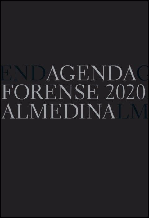 Agenda Forense 2020 (Preto)
