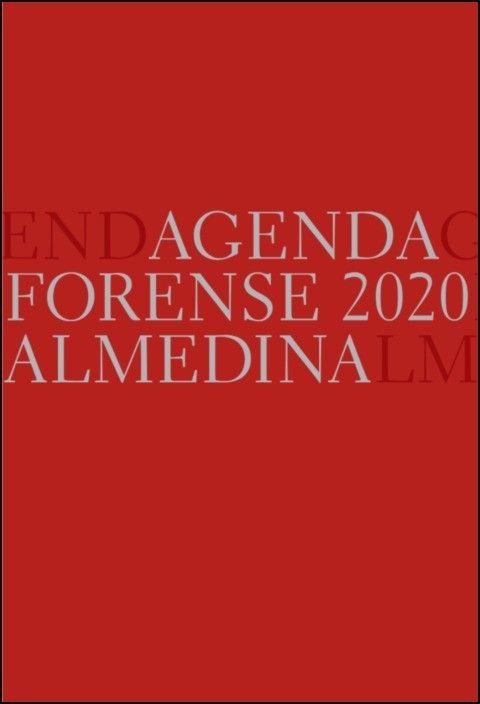 Agenda Forense 2020 (Vermelho)