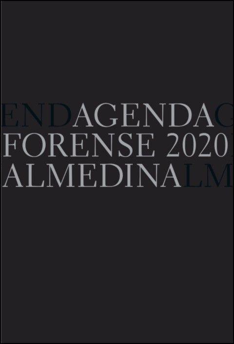 Agenda Forense 2020 Bolso (Preto)