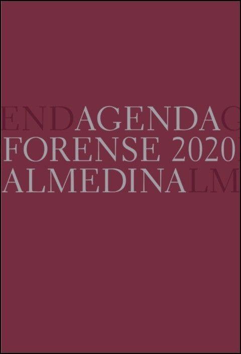Agenda Forense 2020 Bolso (Beringela)