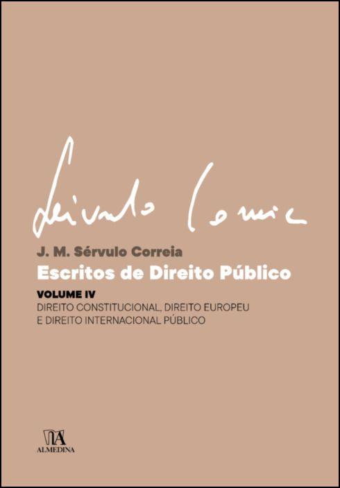 Escritos de Direito Público - Volume IV