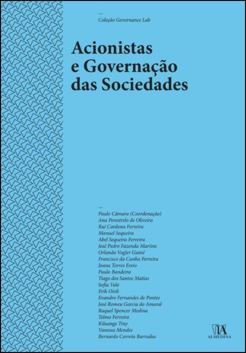 Acionistas e Governação das Sociedades