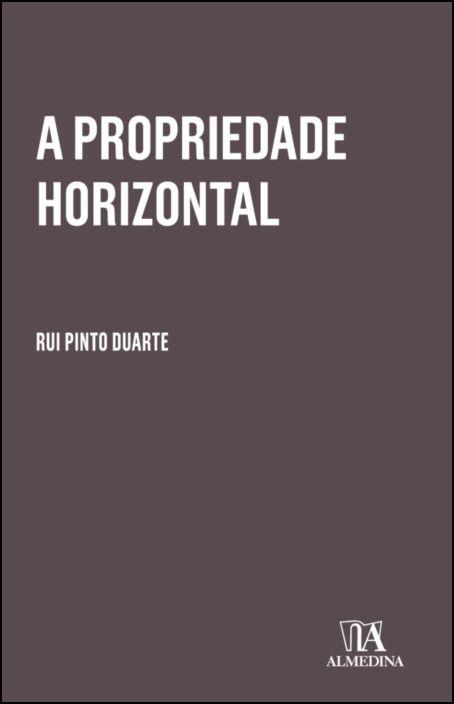 A Propriedade Horizontal