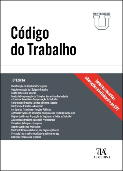 Código do Trabalho - Edição universitária