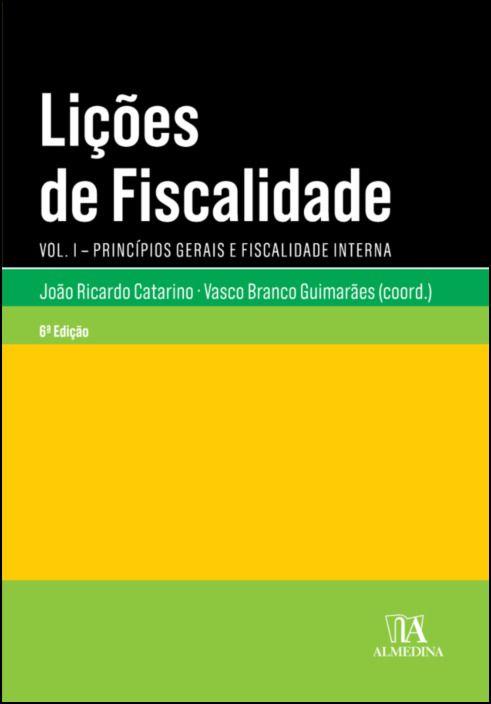 Lições de Fiscalidade Vol. I