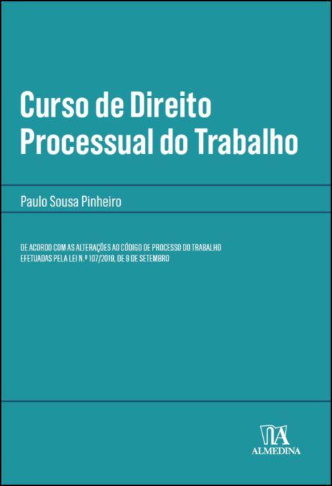 Curso Direito Processual do Trabalho