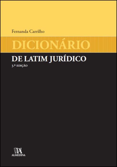 Dicionário de Latim Jurídico