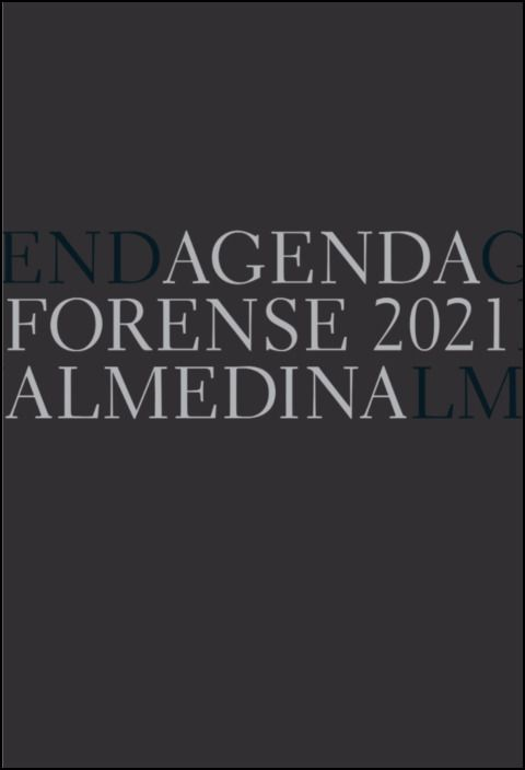 Agenda Forense 2021 (Preto)