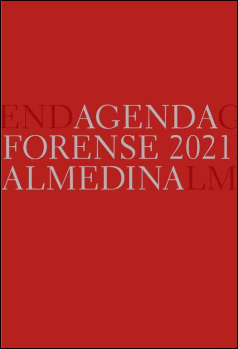 Agenda Forense 2021 Bolso (Vermelho)