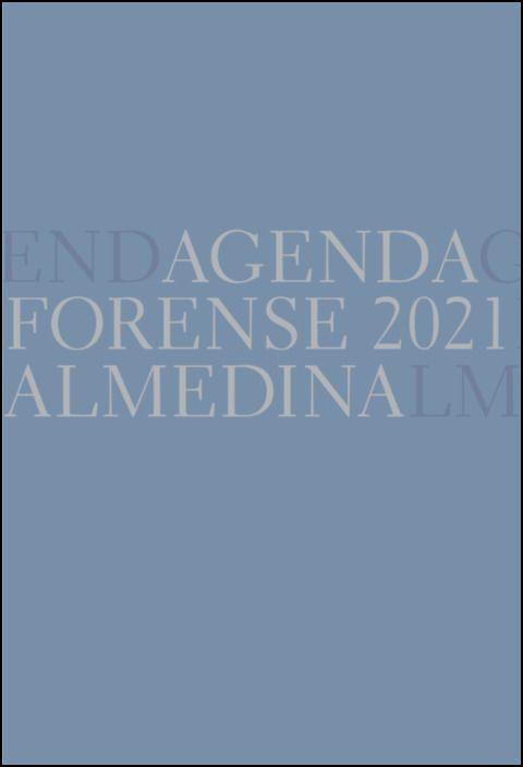 Agenda Forense 2021 Bolso (Thunder)