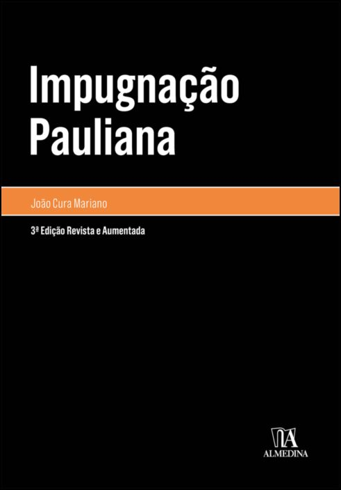 Impugnação Pauliana - 3ª Edição