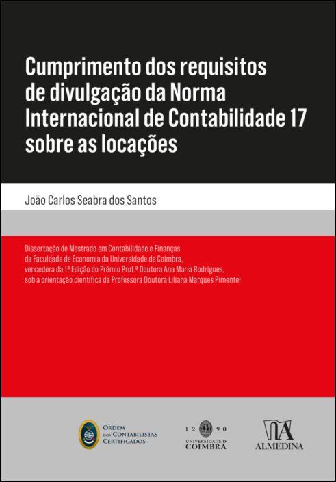 Cumprimento dos requisitos de divulgação da Norma Internacional de Contabilidade 17 sobre as locações