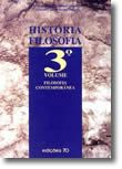 História da Filosofia - Volume III - Filosofia Contemporânea