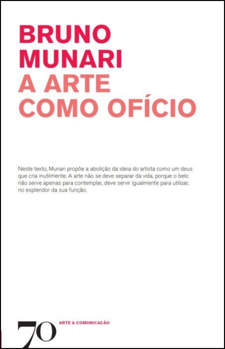 A Arte como Ofício