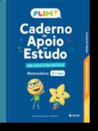 PLIM! Caderno de Apoio ao Estudo - Em Casa e na Escola - Matemática 3º Ano