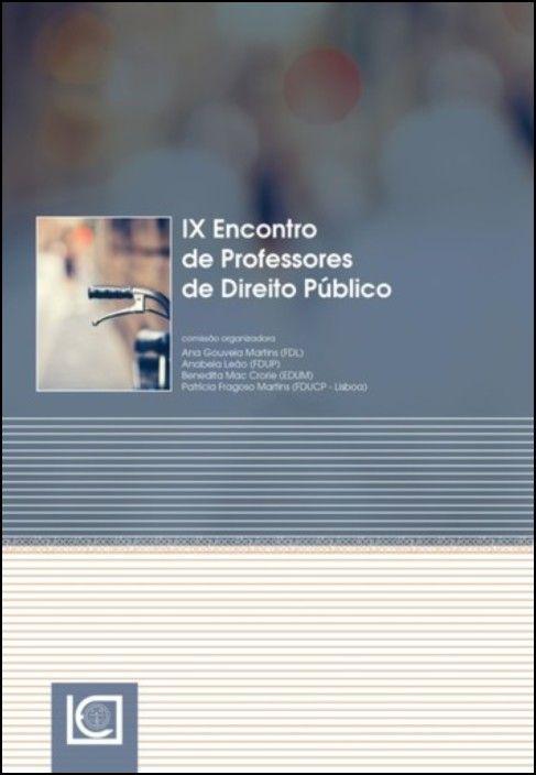 IX Encontro de Professores de Direito Público