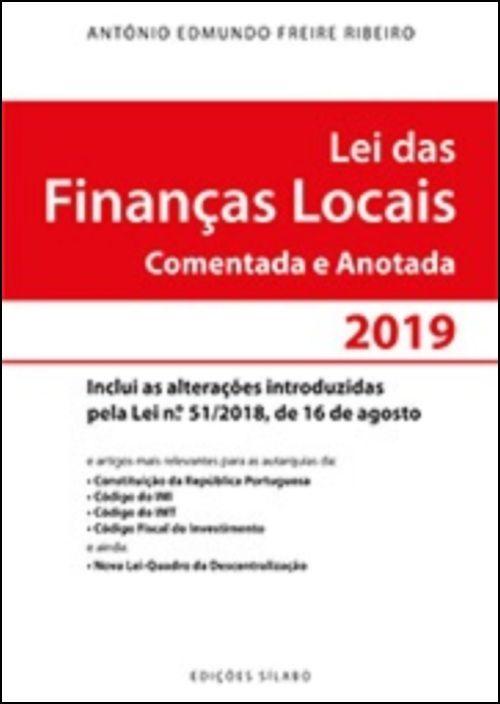 Lei das Finanças Locais 2019 - Comentada e Anotada